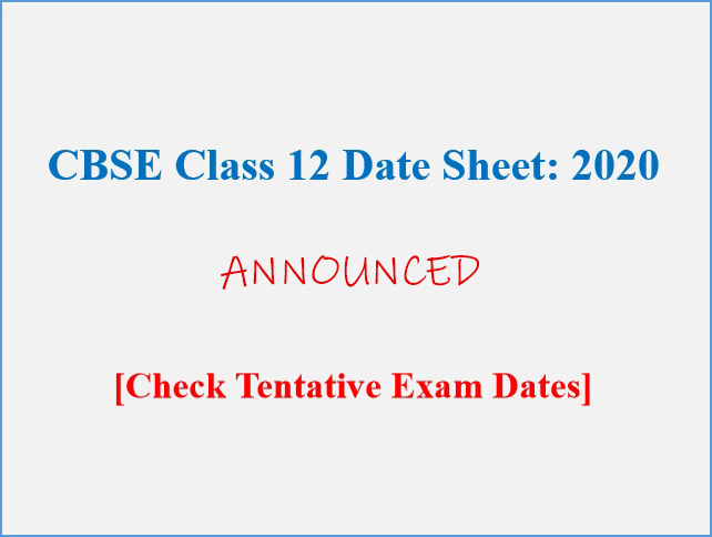 cbse 12th exam