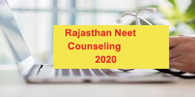 Rajasthan neet counselling 2020