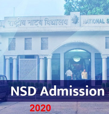 nsd admission 2020