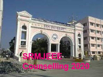srmjeee counselling 2020