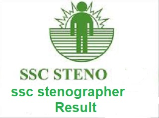 ssc stenographer c & d result