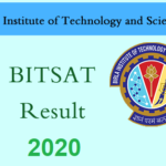 BITSAT Result 2020 :(Announced) Ge Rank Card & Cut Off Here