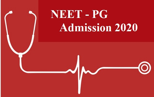 NEET PG 2020 Admission
