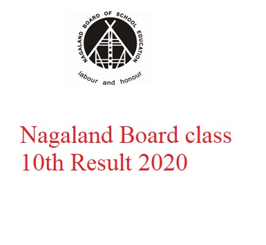 Nagaland Board class 10th Result 2020