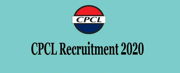 CPCL Manali Recruitment 2020