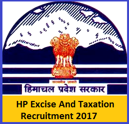 Excise and Taxation Department HP Recruitment