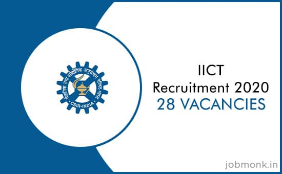 IICT Hyderabad Recruitment 2020