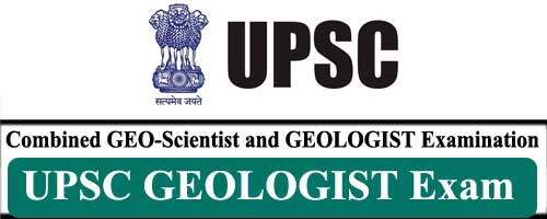 UPSC Combined Geo Scientist 2021