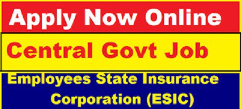 ESIC Kollam Recruitment 2020
