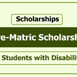 National Scholarship Portal NSP: 2020-21 Post Matric Scholarship For Students With Disabilities