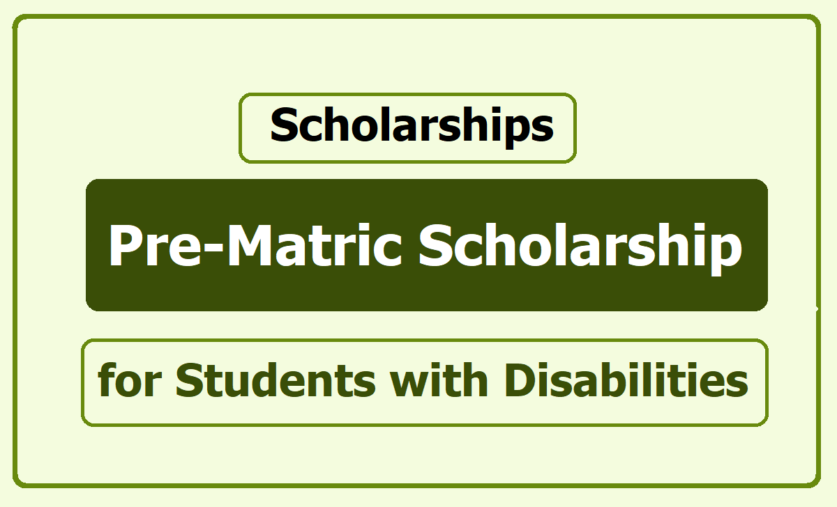 NSP: 2020-21 Post Matric Scholarship For Students With Disabilities