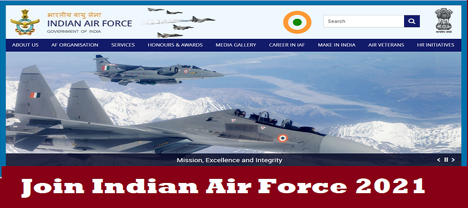Join Indian Air Force 2021