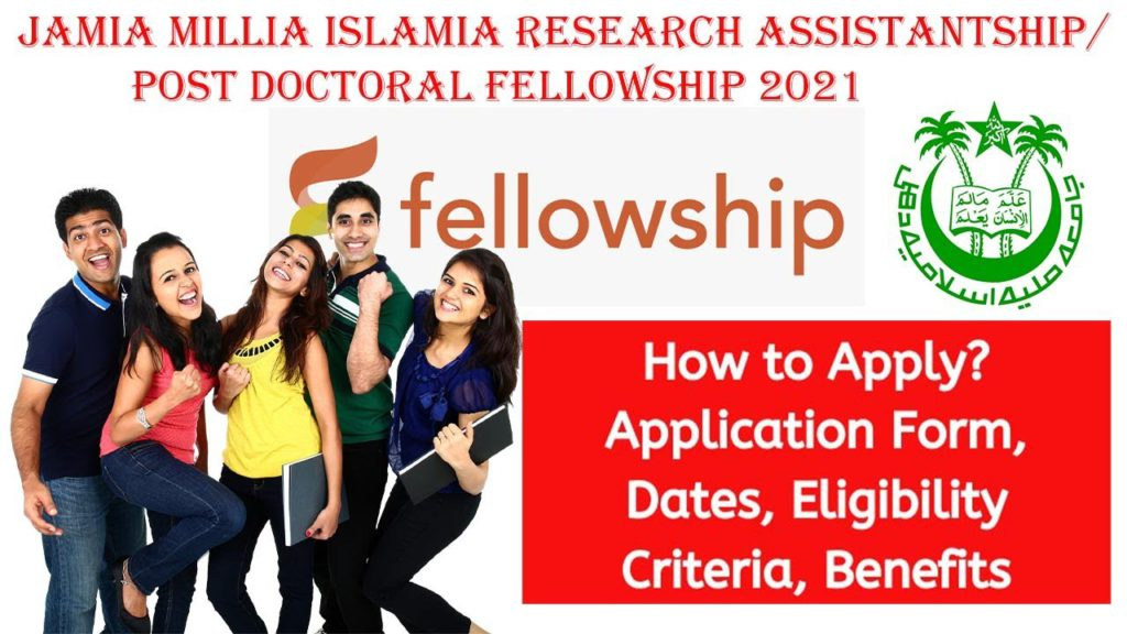 Jamia Millia Islamia Research Assistantship