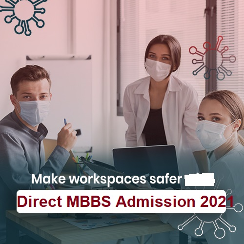 direct mbbs admission 2021 in India