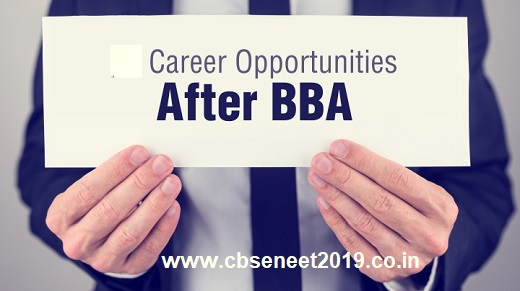 Career Opportunities after BBA In India