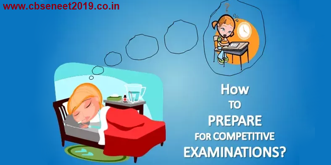 Preparation Strategy for Competitive Exams